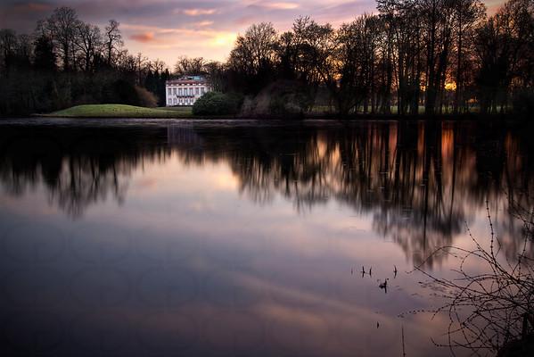 Schloss Schönbusch on the Lower Lake