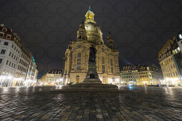 Frauenkirche & Martin Luther