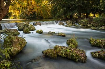 Schwanbinger Bach Falls