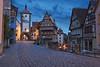 Rothenburg ob der Tauber in Morning