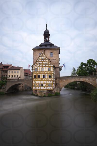 Altes Rathaus in Portrait