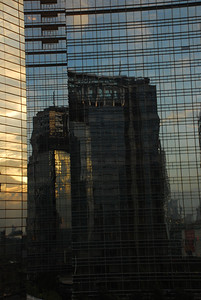 Buildings viewed from our window