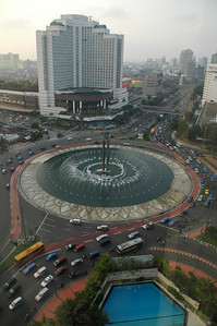 From Hotel Madarin window in Jakarta