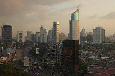 From Madarin Hotel Jakarta