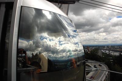 Portland Aerial Tram Reflections