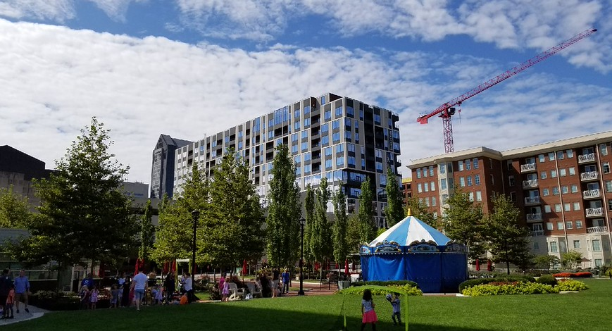 Columbus Commons: From Dead Mall to Urban Park