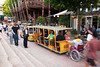 The Trolley Bus at Tivoli Gardens amusement park, Copenhagen, Denmark