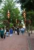 Tivoli Gardens amusement park, Copenhagen, Denmark
