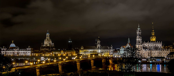 Augustus Bridge, Dresden, Germany 2014