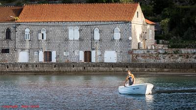 Fisherman Lopud, Croatia