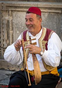 Dubrovnik Street Musician