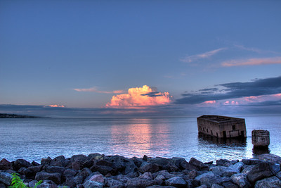 Lake Superior at Sunset - 7.10.13