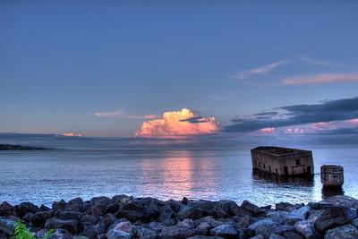 Lake Superior at Sunset - 7.10.13