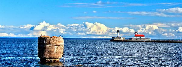 Duluth Lighthouse Panoramic