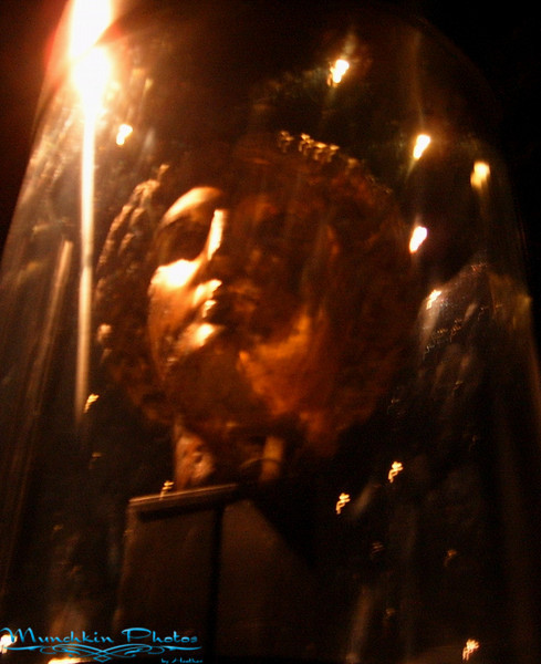 Ritual mask of Minerva.