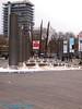 Bristol City Center Fountains.