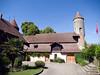 Chenaux Castle courtyard, Estavayer-le-Lac<br /> Olympus E-420, 12-60mm f2.8-4.0