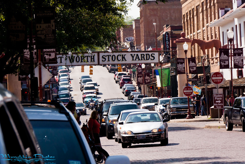Fort Worth Stock Yards on Exchange