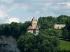 Porte de Bourguillon, Lorette chapel (as seen from the Route des Alpes)<br /> Konica Minolta Dimage A2