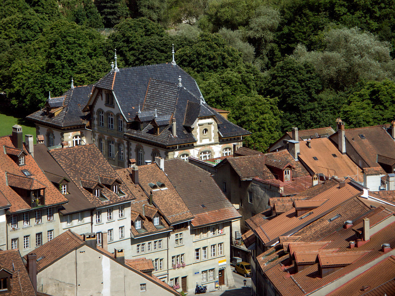 Neuveville (as seen from the Route des Alpes)<br /> Konica Minolta Dimage A2