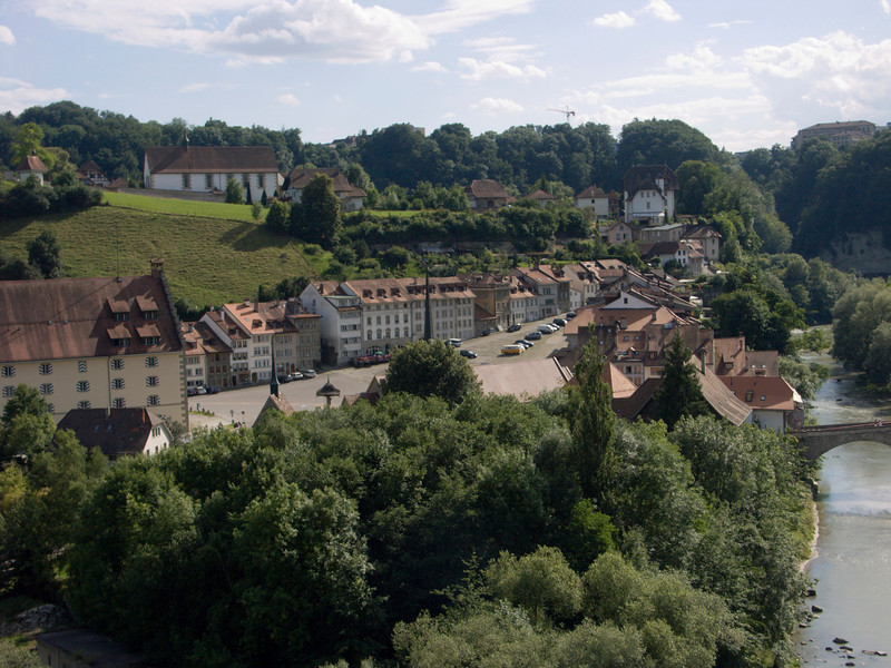 Planche superieure, Montorge (as seen from the Cafe Belvedere, Stalden)<br /> Konica Minolta Dimage A2