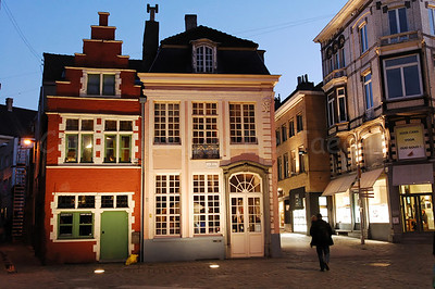 The Kalandeberg in Ghent (Gent),Belgium, captured at dusk.