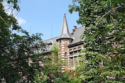 The back of the Vismijn in Ghent (Gent), Belgium.