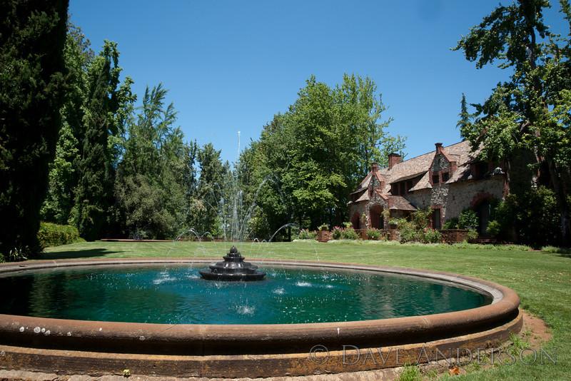 Main family residence.<br /> Empire Mine, Grass Valley, Ca.