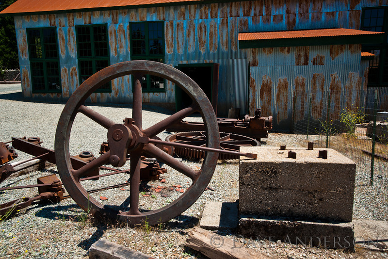 Misc. bits and pieces.<br /> Empire Mine, Grass Valley, Ca.
