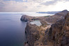 View of St Pauls Bay from the Acropolis of Lindos