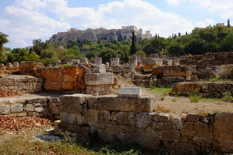 The Agora and Acropolis