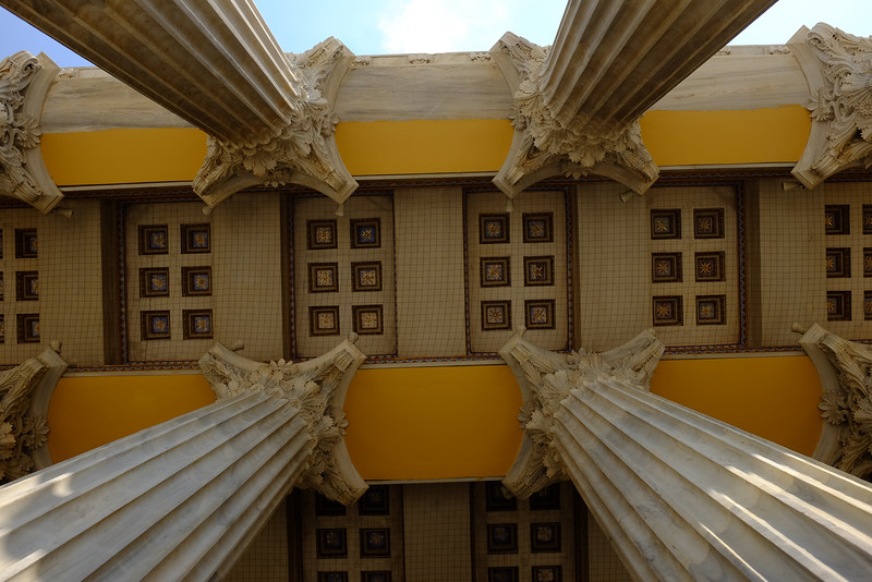 Corinthian Columns of the Zappeion