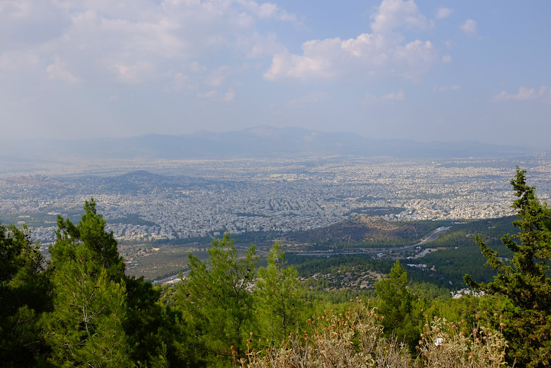Athens from Mount Hymettus