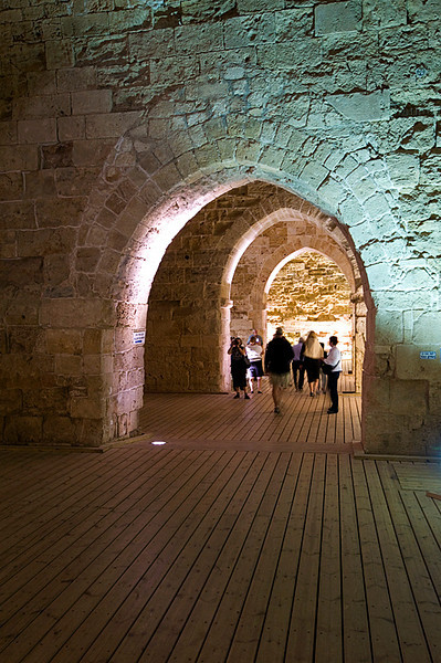 Akko Crusader Castle - Strolling down the Northern Halls