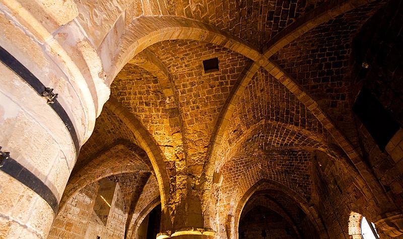 Akko Crusader Castle - The Refrectory