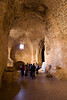 Akko Crusader Castle - Entrance hall which leads to the Knights Halls complex.