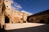 Akko Crusader Castle - The Courtyard