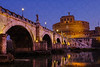 Ponte Sant' Angelo & Castel Sant' Angelo