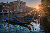 Sunbeams on the Grand Canal