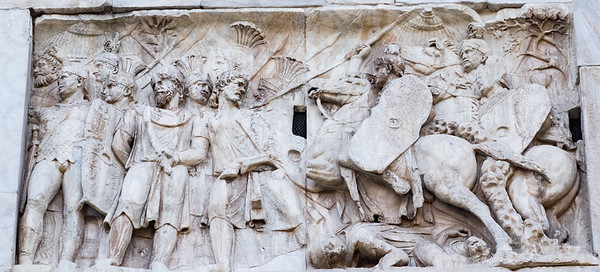 Detail: Arch of Constantine
