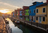 Golden Hour on Burano