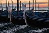 Gondola Details at Sunrise