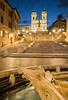 The Spanish Steps at Night