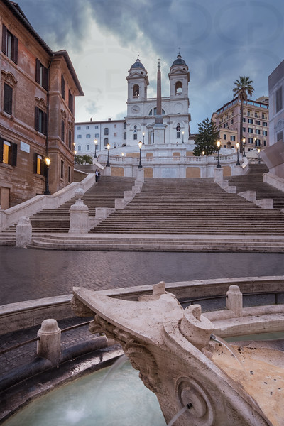 The Spanish Steps in Morning