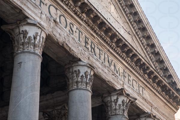 Detail: Pantheon
