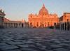 Dawn Breaks at Vatican City