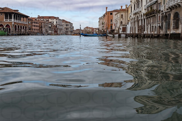 Surface of the Grand Canal