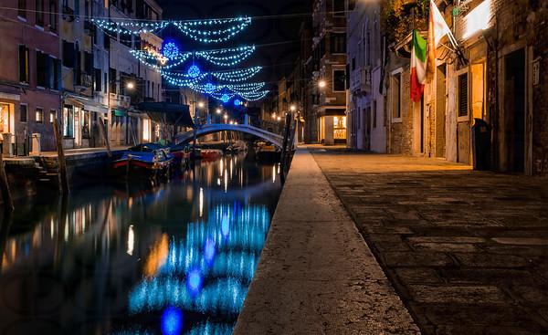 Christmas Night in Venice
