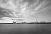 Venice Horizon in Monochrome