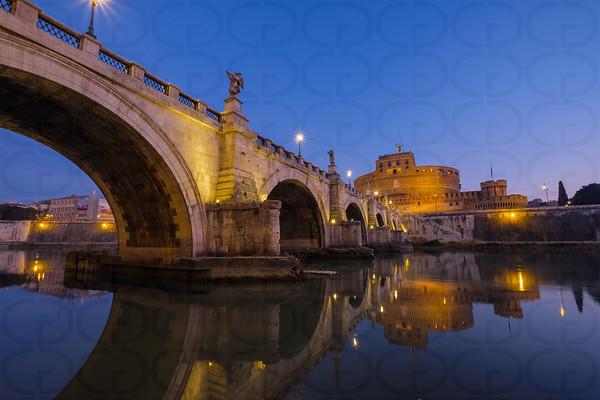Tiber Reflections